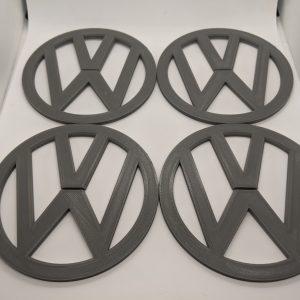 4x VW Volkswagen Coaster Set