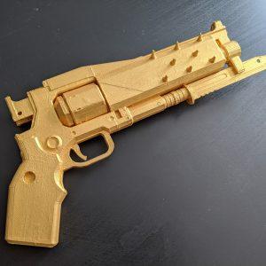 Destiny 2 Crimson Catalyst Gun Model