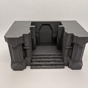 Dwarven Gate / Throne Room – 28mm Tabletop & Wargames
