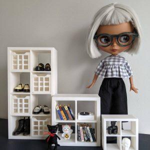 Doll Cuboid Cube Shelves